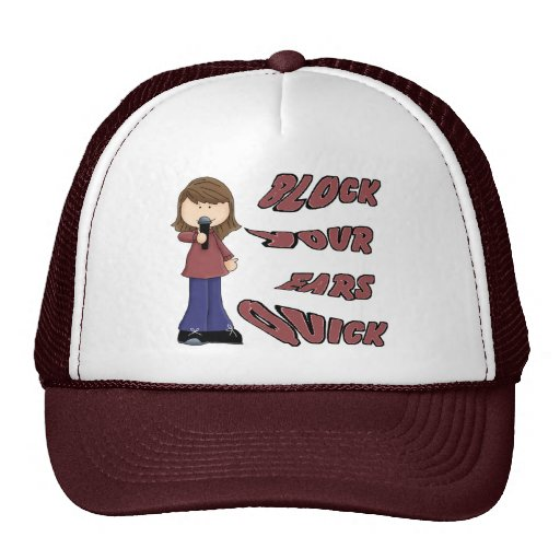 Block your ears quick hats