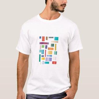 Blockes of Colour Adult Tee Shirt