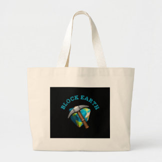 Blocks Earth (impediment background) Tote Bags