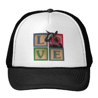 BLOCKS LOVE GOAT TRUCKER HATS