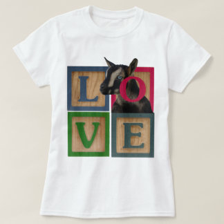 BLOCKS LOVE GOAT T-Shirt