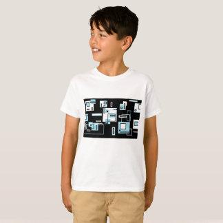 Blocks obsession Funky T-Shirt