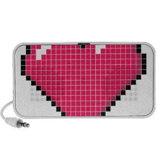 Blocky Heart Mini Speaker