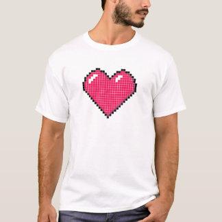 Blocky Heart T-Shirt