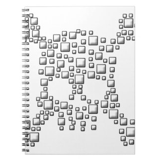 Blocky Skull Notebooks