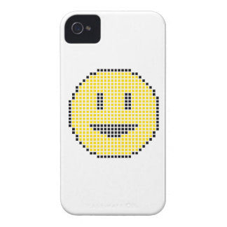Blocky Smiley Face iPhone 4 Cover