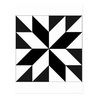 blocos geométricos post card