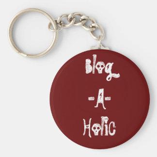 Blog-A-Holic Keychain