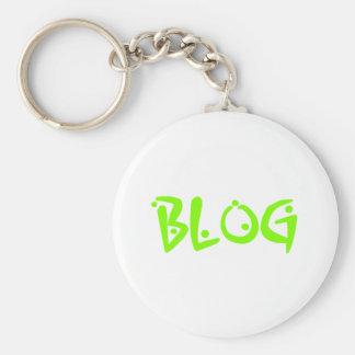 blog basic round button key ring