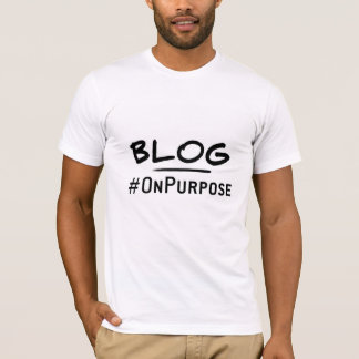 Blog #OnPurpos Men's American Apparel T-Shirt