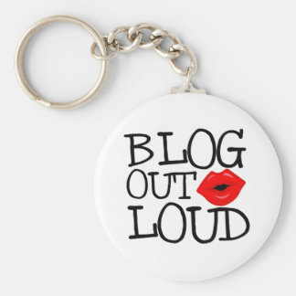 Blog Out Loud Keychain