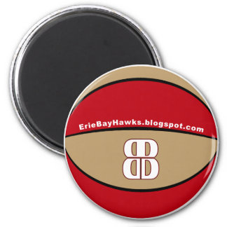 Blog Talk BayHawk basketball magnet