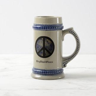 BlogBlast For Peace Stein Beer Steins