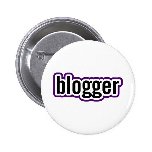 Blogger 6 Cm Round Badge