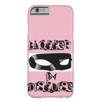 Blogger in Disguise iPhone Case