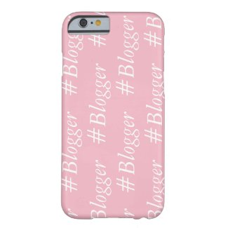 #Blogger iPhone Case - Word Wrapped