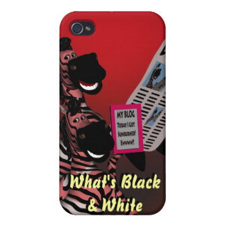 Blogger Riddle iPhone 4 Cases