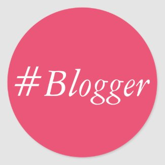 #Blogger Sticker