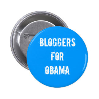 Bloggers for Obama Button