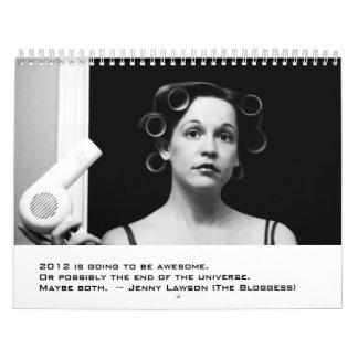 Bloggess 2012 Calendar