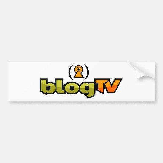 blogTV Bumper Sticker