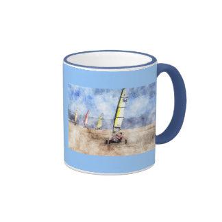 Blokart Racing Competition Ringer Mug