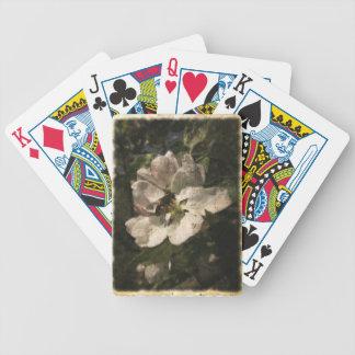 Blommor och bin spel kort