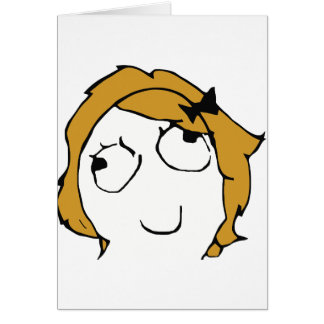 Blond Derpina Greeting Cards