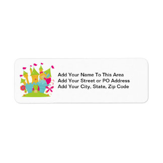 Blond Fairy Princess Return Address Label