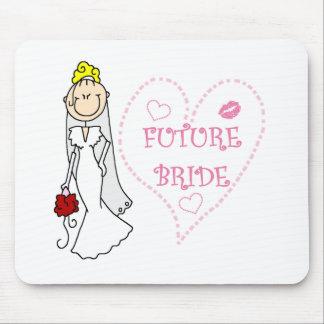 Blond Future Bride Mouse Pad