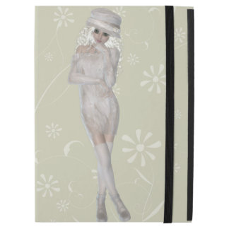 Blond Girl iPad Pro Case with No Kickstand