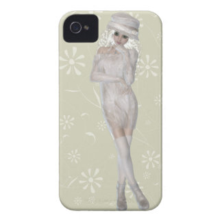 Blond Girl iPhone 4, Barely There Case