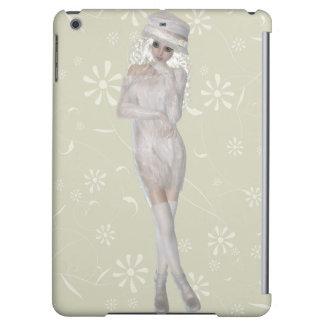Blond Girl Savvy Matte iPad Air Case
