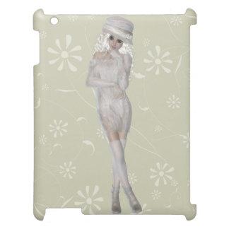 Blond Girl Savvy Matte iPad Case