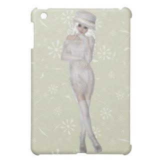 Blond Girl Savvy Matte iPad Mini Case