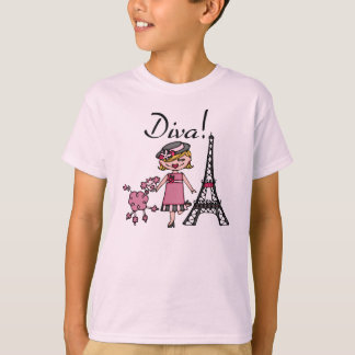 Blond Hair Diva T-Shirt