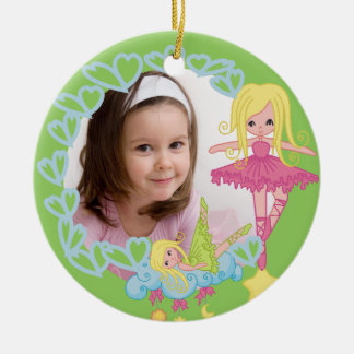 Blond Little Ballerina Keepsake Ornament