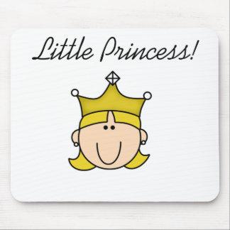 Blond Little Princess  Mouse Pad