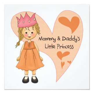 Blond Mommy and Daddy's Princess Announcement