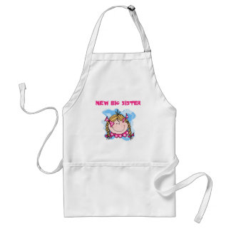 Blond New Big Sister Tshirts and Gifts Standard Apron