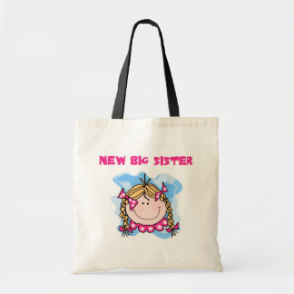 Blond New Big Sister Tshirts and Gifts Canvas Bag