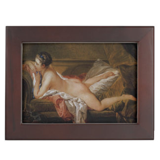 Blond Odalisque by Francois Boucher Keepsake Boxes