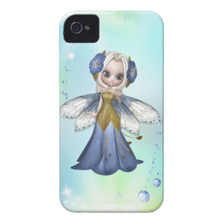 Blond Princess Butterfly Blackberry Case