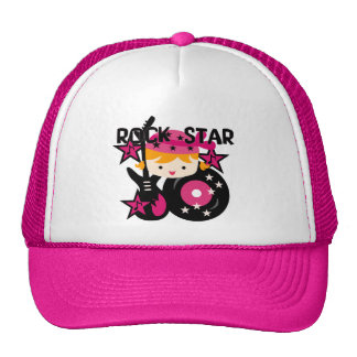 Blond Rock Star Girl Cap