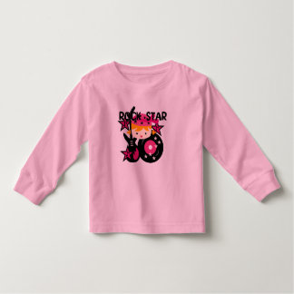 Blond Rock Star Girl T Shirts