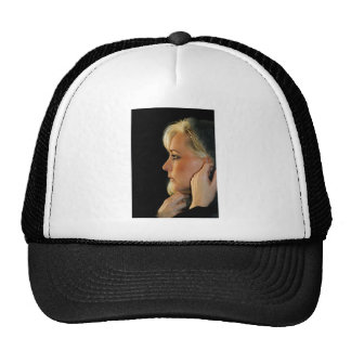 Blond Woman Cap