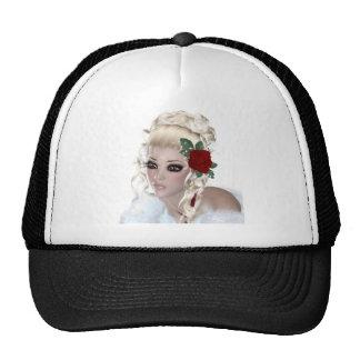 Blond Woman Trucker Hat
