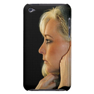 Blond Woman Barely There iPod Cases