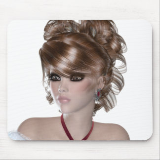 Blond Woman Mousepads