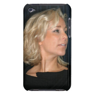 Blond Woman Smiling Barely There iPod Cover